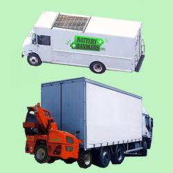 solar power tractor trailer